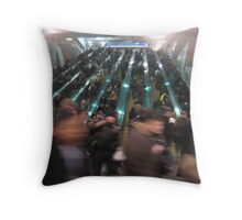 Rush hour! Throw Pillow