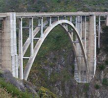 Bixby Bridge (Big Sur, California) by Brendon Perkins