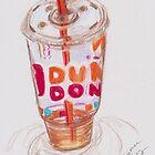 iced coffee by Xtianna