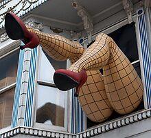 Fishnet Legs (San Francisco, California) by Brendon Perkins