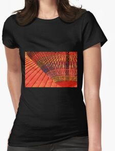 colourful shadow Womens Fitted T-Shirt