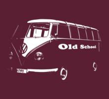 vw bus, Old School by hottehue