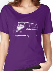 vw bus, Old School Women's Relaxed Fit T-Shirt