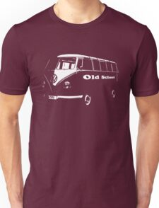 vw bus, Old School Unisex T-Shirt