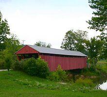 Milton Covered Bridge in WV by fotoflossy