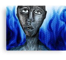 The human stone Canvas Print