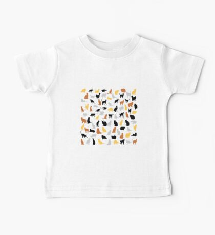 Colorful Cats Baby Tee
