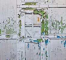 Flakey Door by Nathan Schmidt