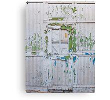 Flakey Door Canvas Print