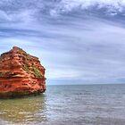 Ladrum Bay, Devon, United Kingdom by Becky Loosemore