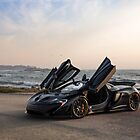 Siniser McLaren P1: Wings Up by David Coyne