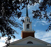 Historic Church in Madison, FL by Debbie Robbins