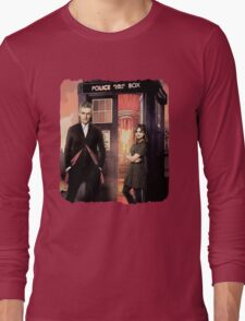 Capaldi Doctor Who Long Sleeve T-Shirt