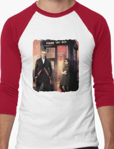 Capaldi Doctor Who Men's Baseball ¾ T-Shirt