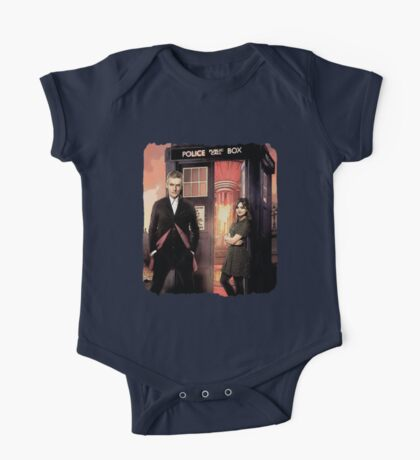 Capaldi Doctor Who One Piece - Short Sleeve