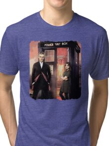Capaldi Doctor Who Tri-blend T-Shirt
