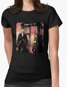 Capaldi Doctor Who Womens Fitted T-Shirt