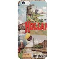 Gustave Fraipont Affiche Nord Hollande iPhone Case/Skin