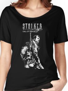 Stalker COP White Women's Relaxed Fit T-Shirt