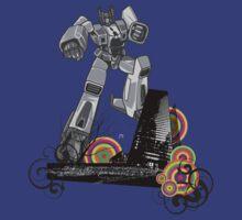 Attack of The Robot by gudiashankar