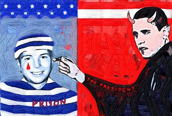 In God we trust to free Bradley Manning by Albert