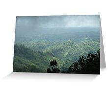 Shade of cloud Greeting Card