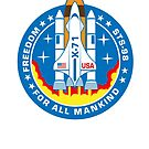 Freedom Mission Patch by superiorgraphix