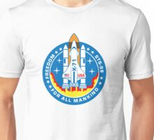 Freedom Mission Patch Unisex T-Shirt