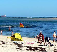 Beach & Bar by Graeme  Hyde