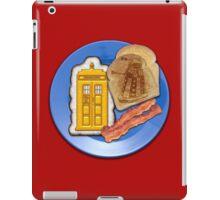 Whovian Breakfast iPad Case/Skin