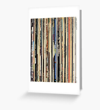 Vinyl Record Collector   Greeting Card