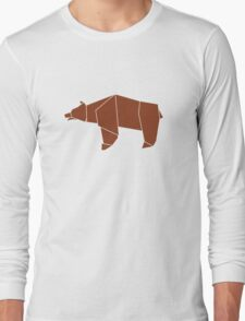 OrigamiBear Long Sleeve T-Shirt