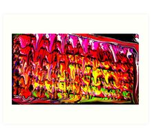 High Frequency plates of Molton Energy. Art Print