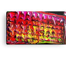 High Frequency plates of Molton Energy. Metal Print