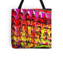 High Frequency plates of Molton Energy. Tote Bag