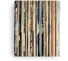 The Beatles, Led Zeppelin, The Rolling Stones - Classic Rock Albums Canvas Print