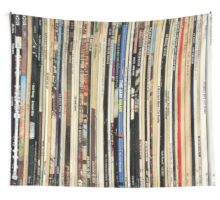 The Beatles, Led Zeppelin, The Rolling Stones - Classic Rock Albums Wall Tapestry