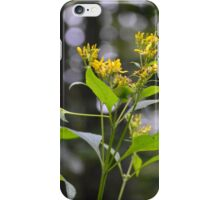 Yellow Flowers in the Forest iPhone Case/Skin
