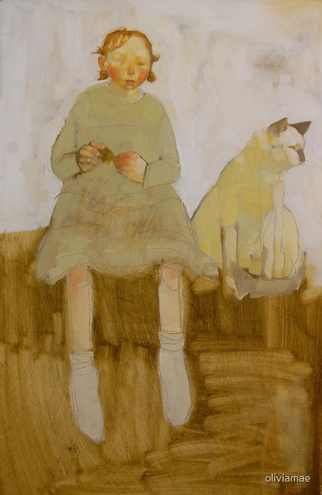 Ella and Marzipan by oliviamae