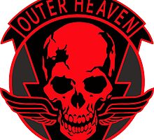 Outer Heaven-MGSV by david orchad