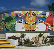 """Mural """"Origin, mission and vision"""" by Ehivar Flores Herrera"""