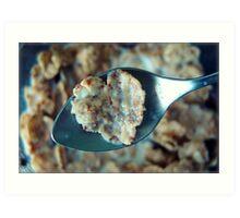 corazón de cereal Art Print