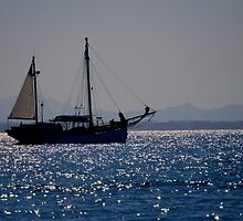 Sailing (Mar Menor) by Alfonso Fernandez