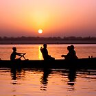 Sunrise on the Ganges by philrwesty