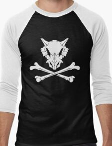 Cubone Skull Men's Baseball ¾ T-Shirt