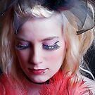 Burlesque Headshot by Mark Dobson