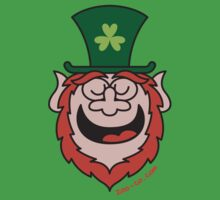 St Paddy's Day Leprechaun Speaking by Zoo-co