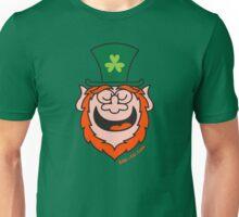 St Paddy's Day Leprechaun Speaking Unisex T-Shirt