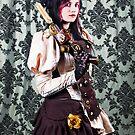 Steampunk Lady by Mark Dobson