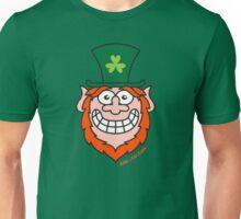 St Paddy's Day Naughty Leprechaun Unisex T-Shirt